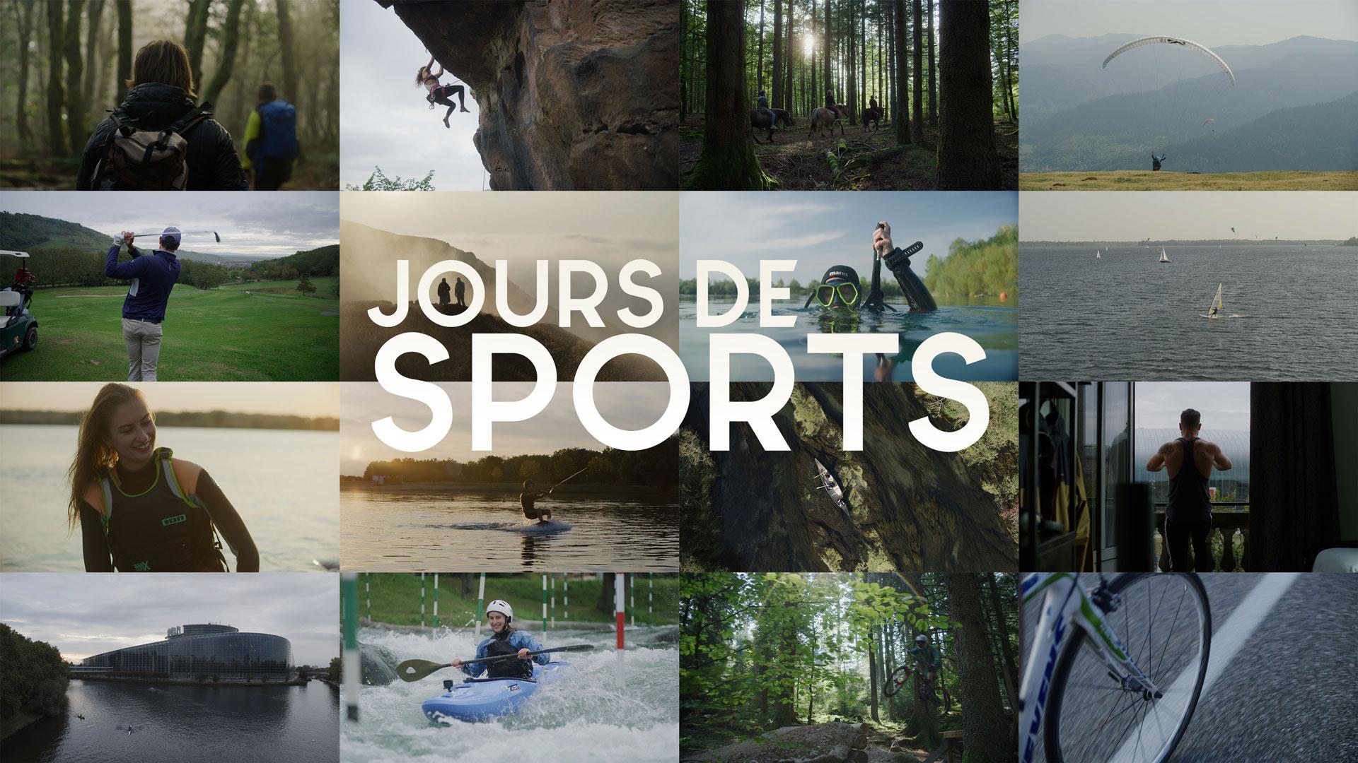 Mosaique sport nature alsace